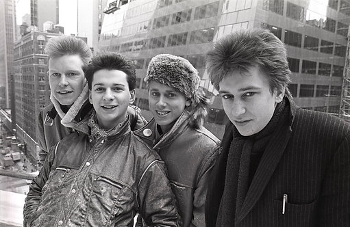 Depeche Mode. NYC, 1982