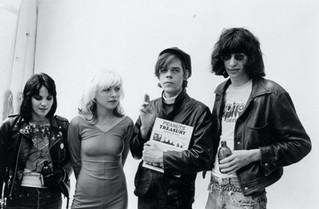 Joan Jett, Debbie Harry, David Johansen, Joey Ramone. Punk Wedding, 1977