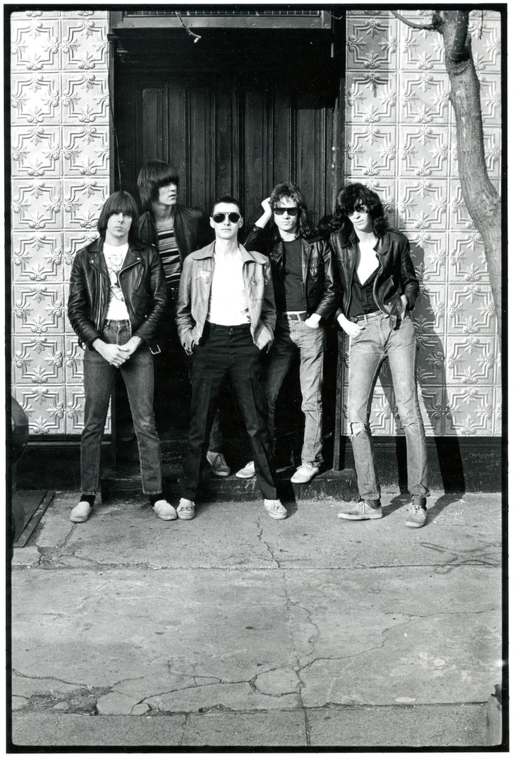 Ramones with Arturo Vega