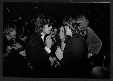 Mick Jagger & David Johansen. NYC, 1976