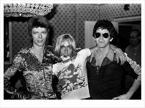 David Bowie, Iggy Pop, Lou Reed, London's Dorchester Hotel 1972