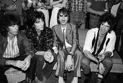 Rolling Stones at Danceteria, NYC, June, 1980