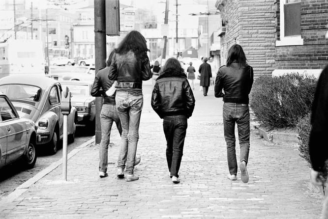 Ramones on the street