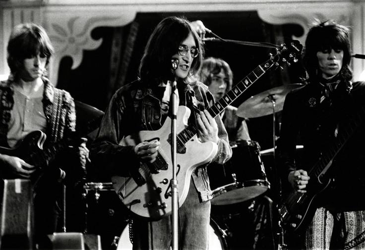 John Lennon, Eric Clapton, Keith Richard