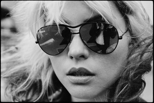 """Debbie Harry """"Shades"""". NYC, date unknown"""