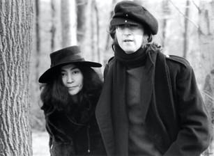 John Lennon & Yoko Ono. NYC, 1973