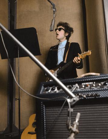 Bob Dylan, New York in 1965
