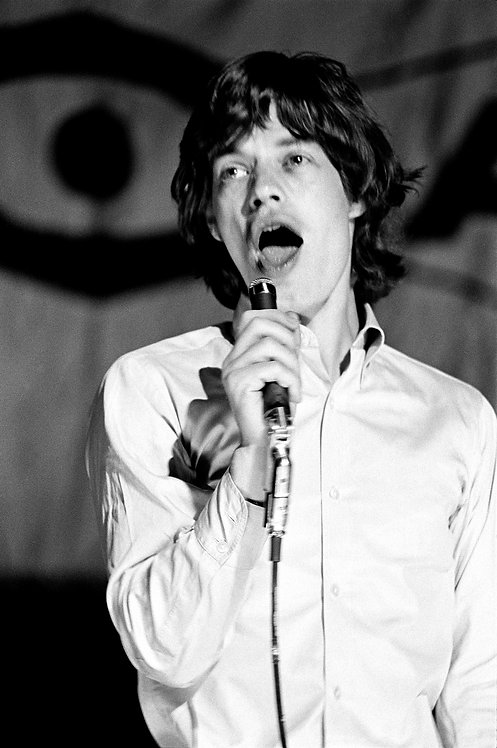 Mick Jagger, Waldbühne Berlin - West Germany, 1965