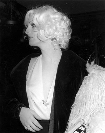 Candy Darling at the Living Legends Award show, NYC 1973