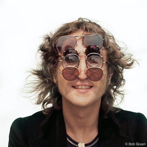 John Lennon by Bob Gruen. NYC, 1974