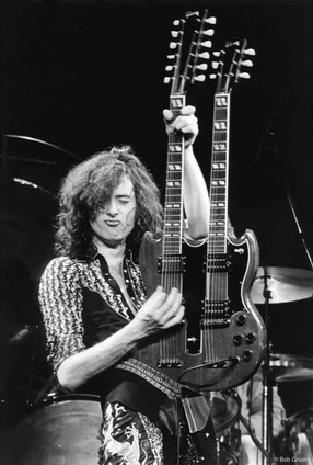 Jimmy Page. NYC, 1975