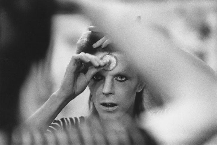 MICK ROCK - David Bowie -Mirror - UK 197