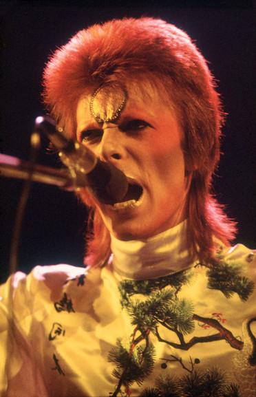 David Bowie. Earls Court. London,1973