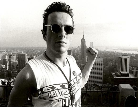 Joe Strummer / Clash Top of The Rock, NYC 1981