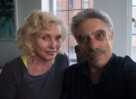 Debbie Harry and Allan Tannenbaum