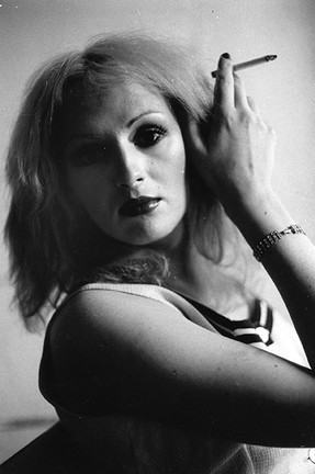 Candy Darling with Cigarette, NYC 1971