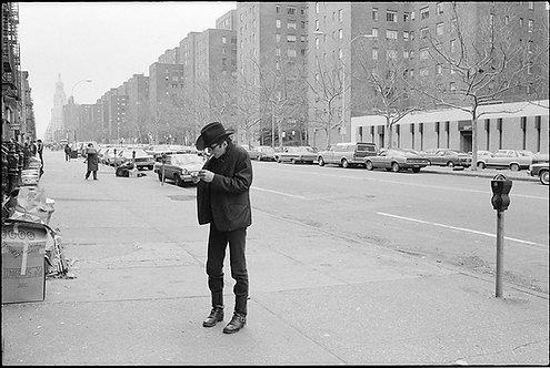 Joe Strummer by Roberta Bayley. NY, 1980