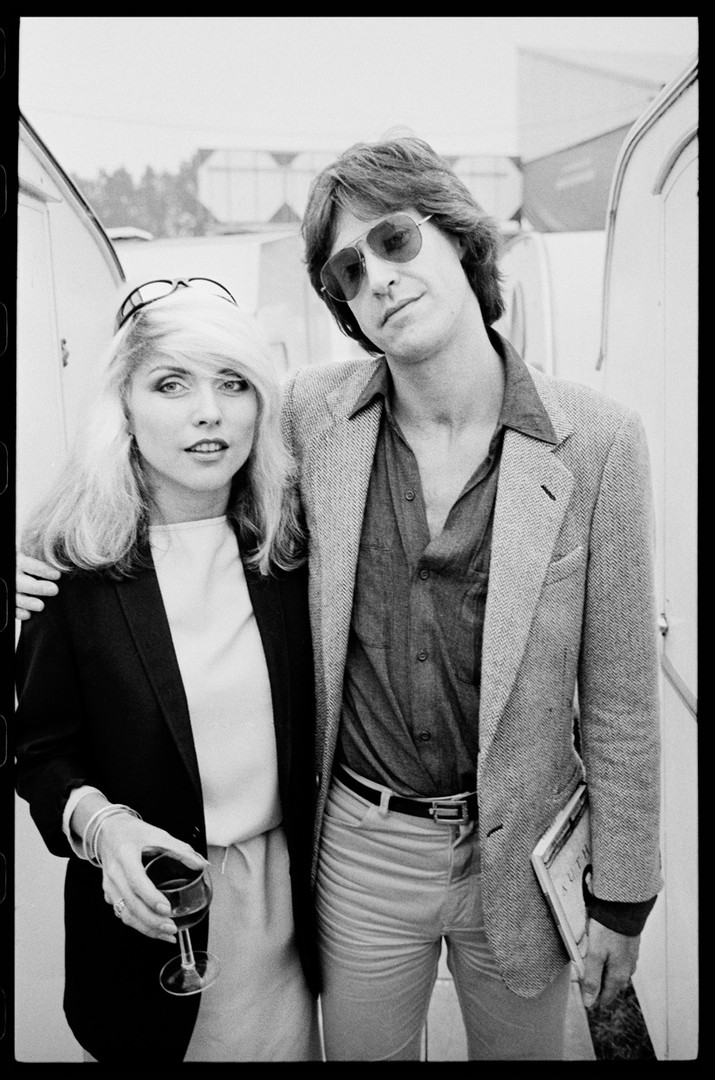 Debbie Harry and Friend