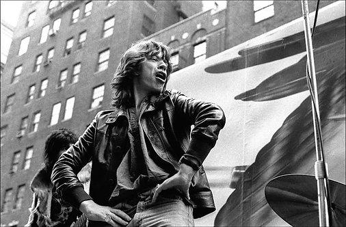 Mick Jagger, Greenwich Village. NYC, 1975