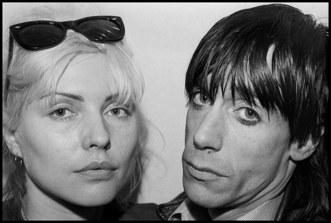 Debbie Harry & Iggy Pop. NYC, 1977