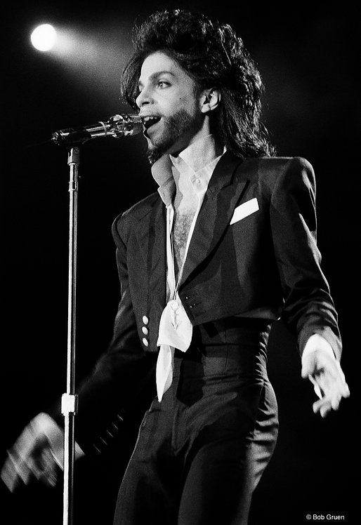 Prince by Bob Gruen. Rio de Janeiro, 1991