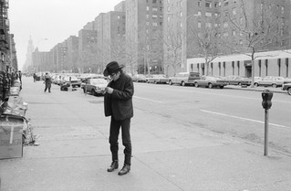 Joe Strummer. 14th Street - New York City, 1980