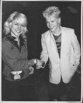 Debbie Harry and Billie Idol