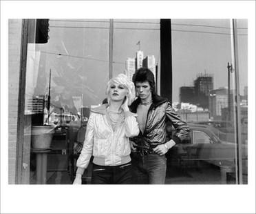 David Bowie with Cyrinda Foxe. San Francisco, 1972
