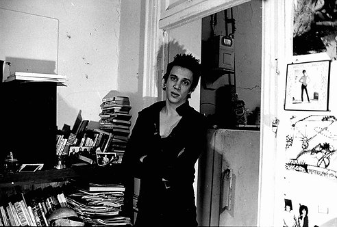 Richard Hell by Roberta Bayley. NYC, date unkown