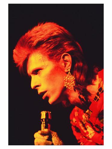 David Bowie. Scotland, 1972
