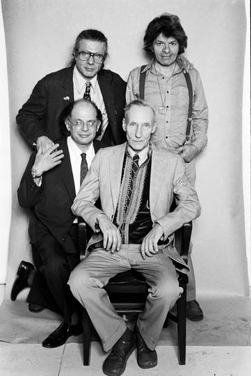 Corso, Burroughs, Ginsberg, Orlovsky