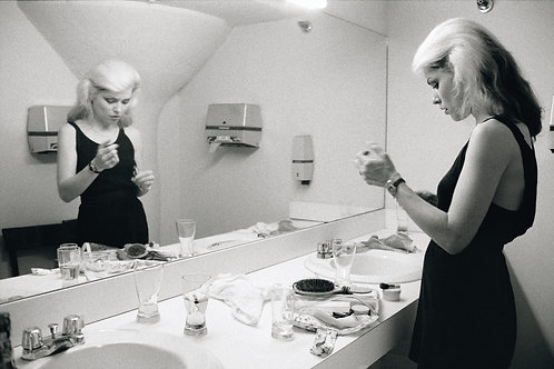 Debbie Harry in the mirror.