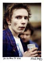 Johnny Rotten - Vintage Cibachrome