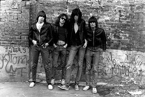Ramones by Roberta Bayley. NYC, 1976