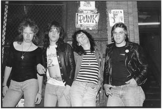 Dead Boys. New York, 1976