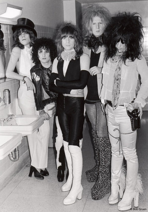 The New York Dolls. NYC, 1974