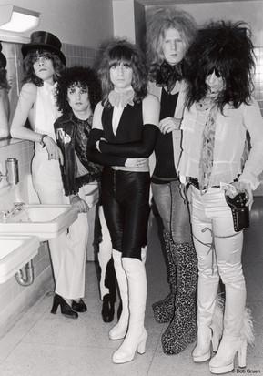 The New York Dolls. NYC, 1974