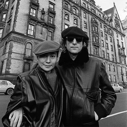 Yoko Ono and John Lennon, Dakota Apartments, NYC, November 21, 1980