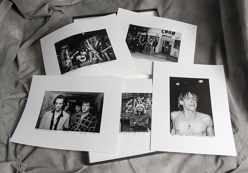 New York Punk (1974-1981) by Allan Tannenbaum