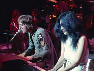 John Lennon and Yoko Ono. NYC, 1972
