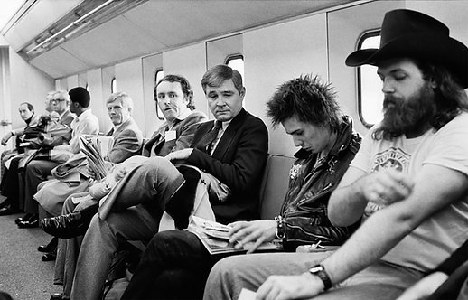 Sid Vicious by Bob Gruen. Baton Rouge, LA. 1978
