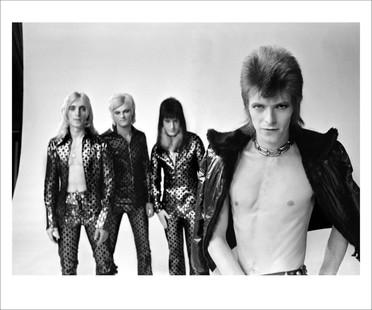 Bowie With Spiders. Jean Genie Video. SanFrancisco