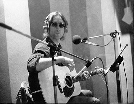 John Lennon Record Plant, NYC 1974