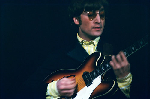 John Lennon - The Beatles. First America Tour, 1964