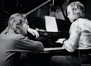 Elton John & John Lennon. NYC, 1974