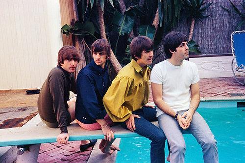 The Beatles in Bel Air, California - 1964