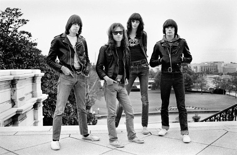 "DANNY FIELDS ""My Ramones"" Portfolio 20 photographs  Made by Danny Fields in 2020   Dee Dee Ramone Silver Gelatin Fiber Print Premium Cotton Photography Paper  Size 11 X 14 inches / 28 x 35,5 cm  Edition 5 + 2 A/P Stamp, numbered & signed by the artist"