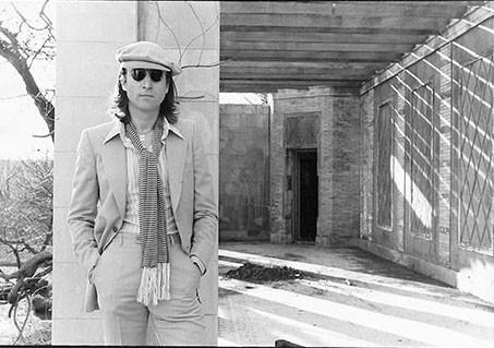 John Lennon in Untermyer Park Untermyer Park, Yonkers, NY 1975