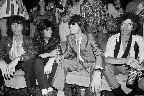 The Rolling Stones. New York City, 1980