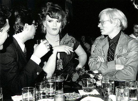 Jackie Curtis and Andy Warhol Cabaret in the Sky at C.I.T.Y. - NYC, 1974